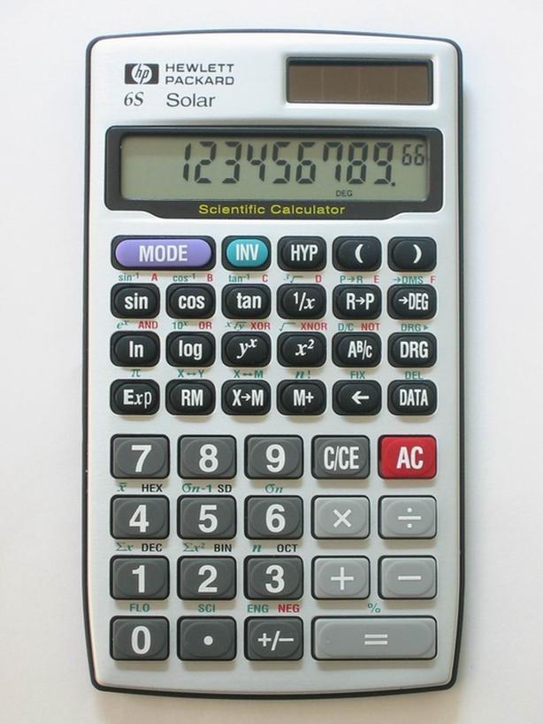 hewlett packard calculator manual