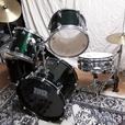 drum kit Tko maple,dark green readyto play