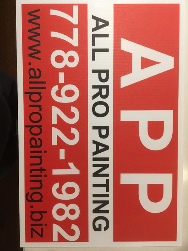 ALL PRO PAINTING Victoria City Victoria - All pro painting