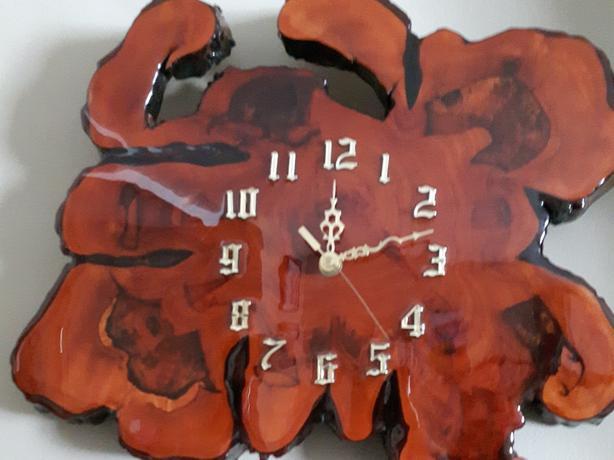 Vintage 70s wood clock