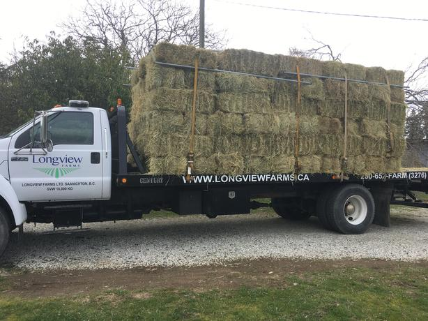 BARN CLEARANCE - LOCAL ORGANIC HAY FOR SALE