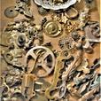 steampunk art parts