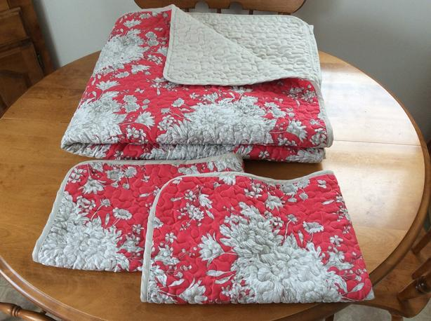 Quilt Set. 3 pc, Double/Queen