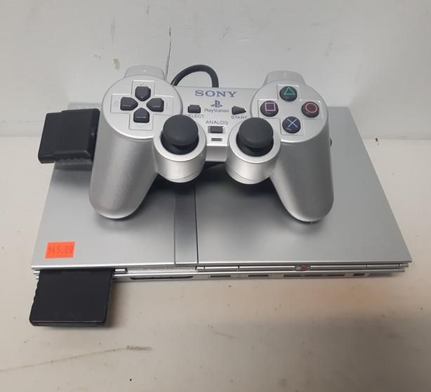  Log In needed $45 · Silver PS2 Slim Console