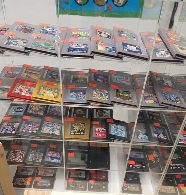 Nintendo Games for Sale @ Hang & Play Video Games