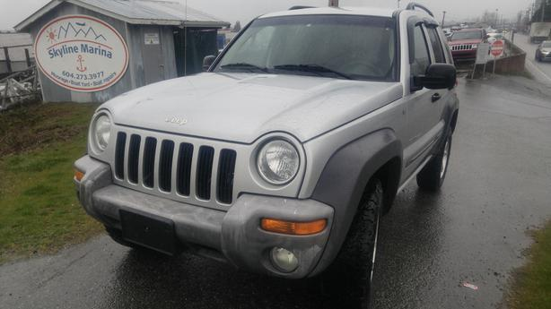 2002 Jeep Liberty Sport 4WD -comes with 6 Months Warranty