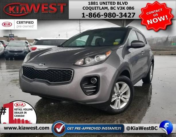 2017 Kia Sportage LX All-Wheel Drive