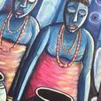 Art Originals, Portraits, John Wayne, African Art & Carvings, Etchings
