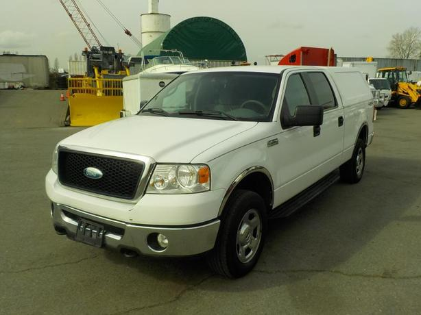 2007 Ford F-150 XLT SuperCrew 6.5ft Bed 4WD with Canopy