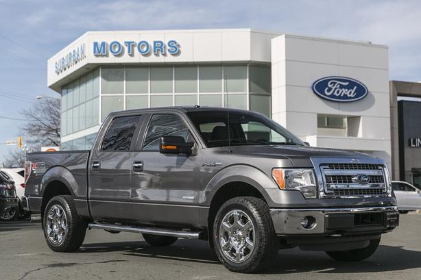 2014 FORD F-150 XLT SUPERCREW 4X4