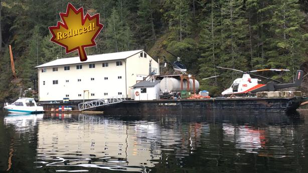 165FT Self Contained Lodging Barge