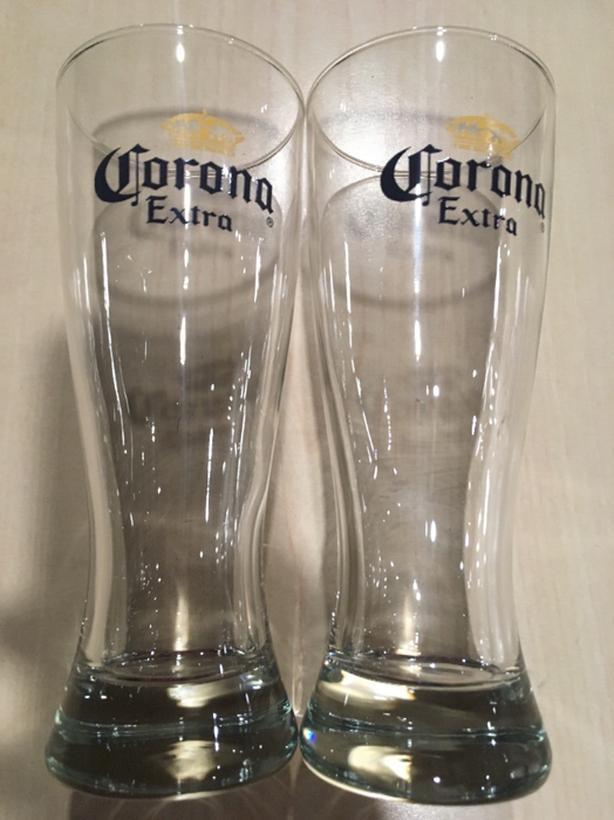 Corona Pint Glasses