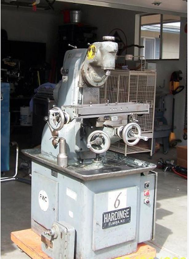 Wanted - Clausing or Hardinge milling machine