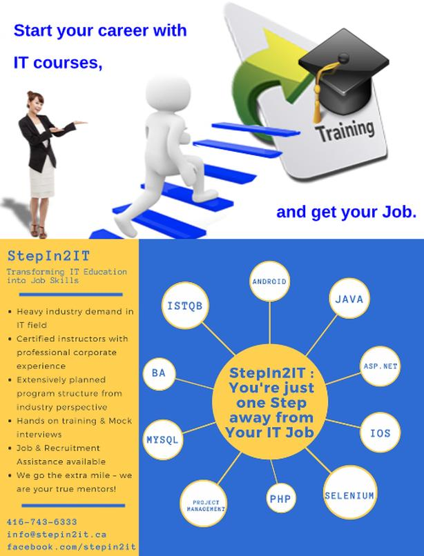 IT training and job