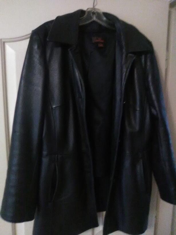 Ladies Danier Genuine Leather Car Coat