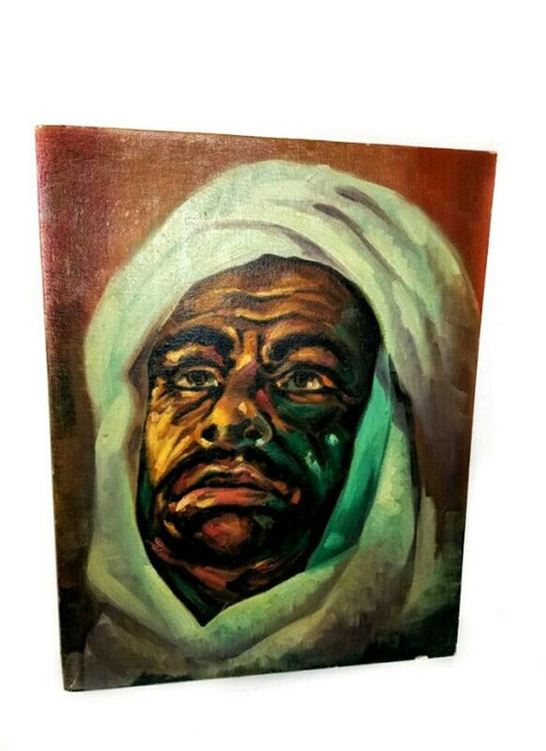 Vintage painting of Lawrence of Arabia