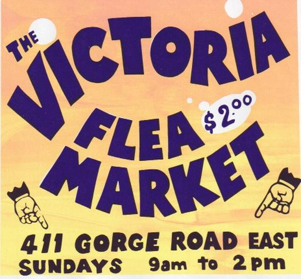 Vic Flea Market now CLOSED Back In October - Kids Free