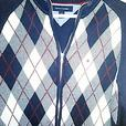Tommy Hilfiger medium Argyle zipper sweater