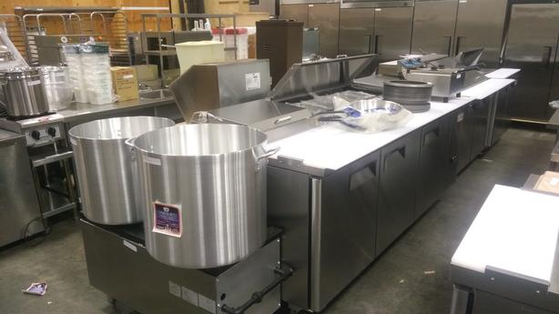 High-End Commercial Food Equiment Auction