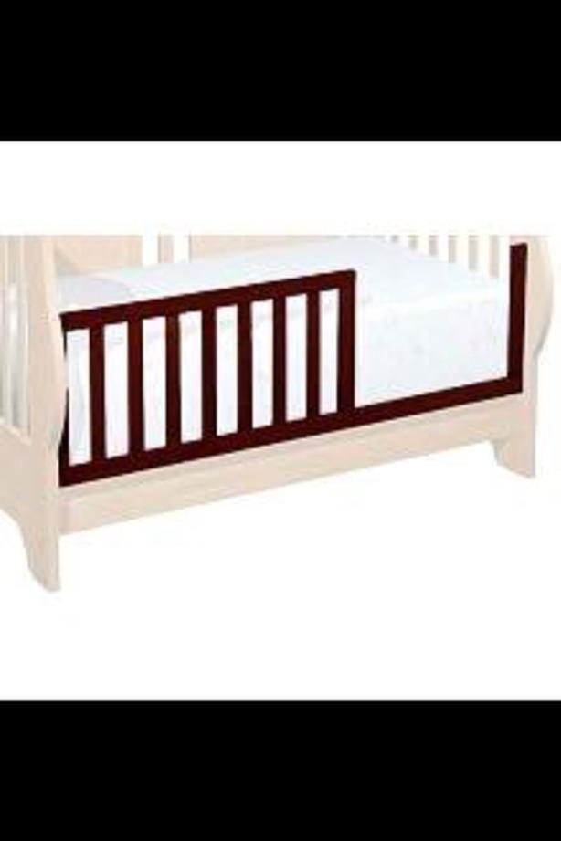 Shermag Preston Crib Guard Rail Cherry West Shore Langford