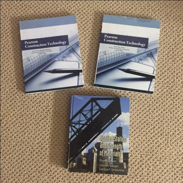 Architecture/ Engineering Textbooks - Statics