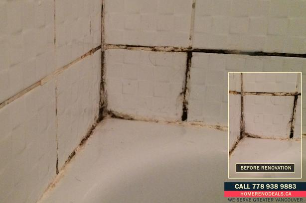 Tiled Bathroom Repairs and Regrouting
