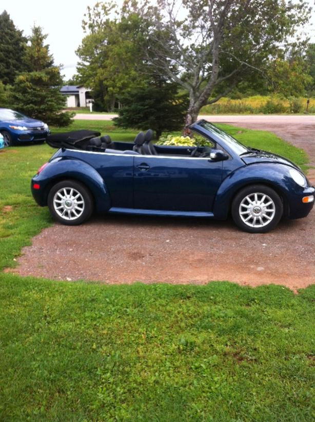 04 Vw Beetle convertible