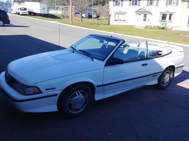 1992 Chevy Cavalier Convertible