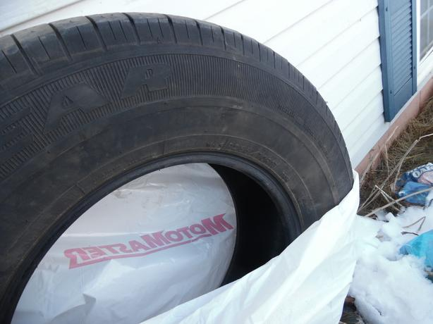 Two tires 120 265/70/17   Goodyear SR A