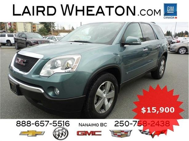 2009 GMC Acadia SLT Low Kms, Back-up Camera