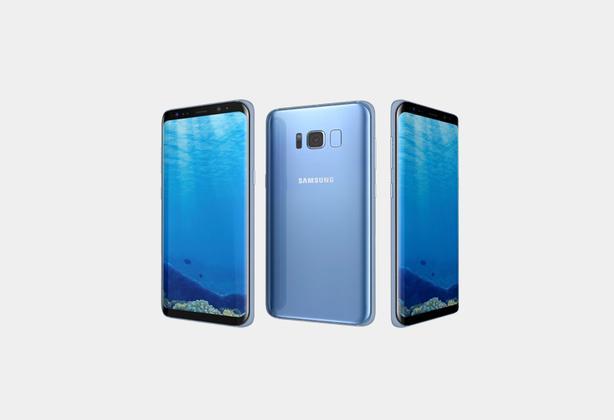 Samsung Galaxy S8 SM-G950FD 64GB Factory Unlocked (Coral Blue)