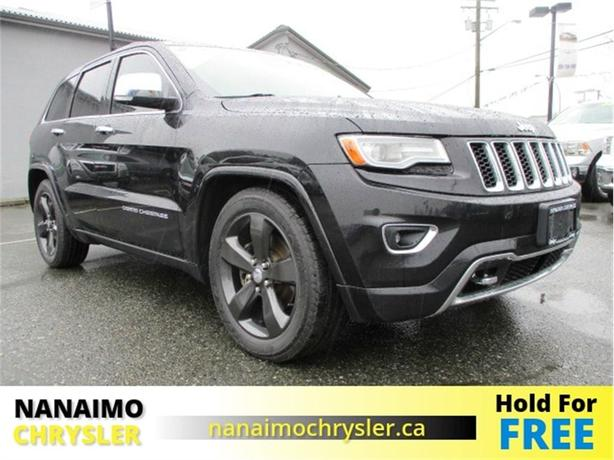 2014 Jeep Grand Cherokee Overland One Owner No Accidents