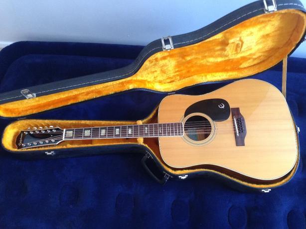 Epiphone FT 565 Excellente-12 Acoustic Guitar - Fantastic Condition