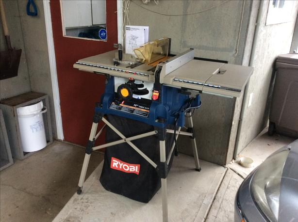 "Ryobi 10"" 15 Amp Table Saw"