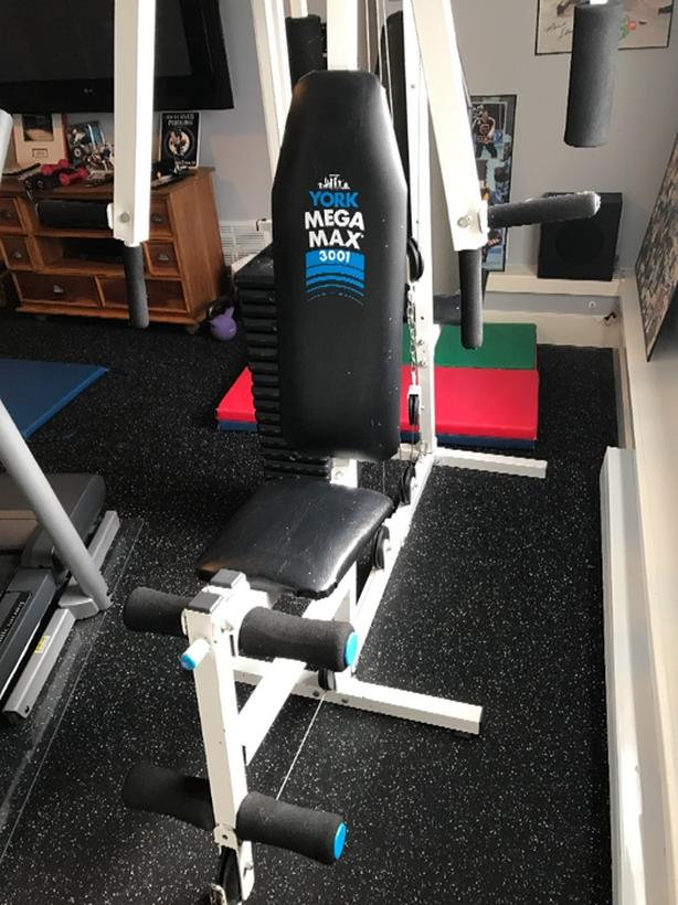 Free york mega max home gym sold saanich victoria