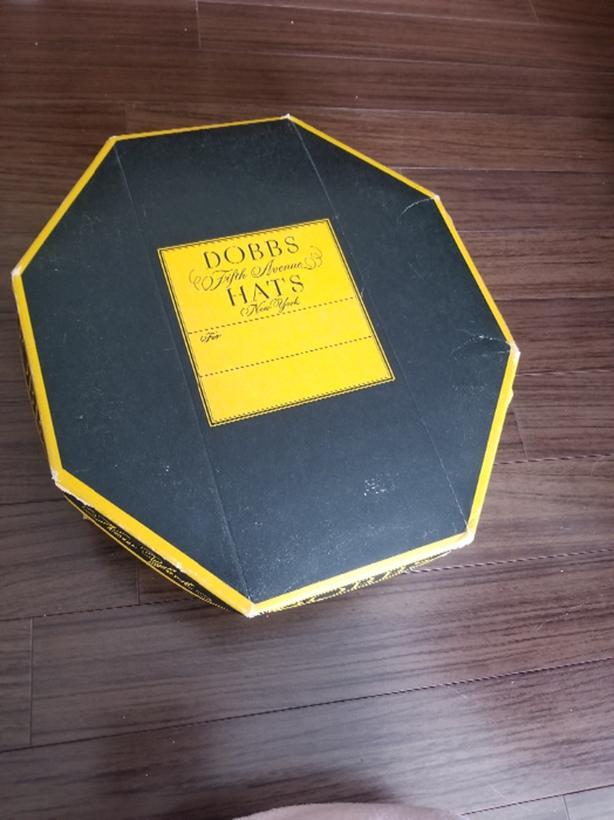 Vintage Dobbs Fifth Avenue Hats Box Victoria City b3b56c4e6d3