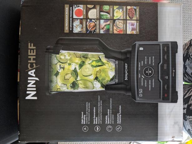 BRAND NEW IN BOX** Ninja Chef Blender $150 00 Central