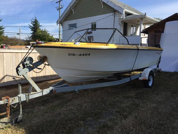 trailer for sale (boat comes with)