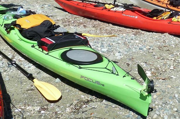 Kayak Wilderness Focus
