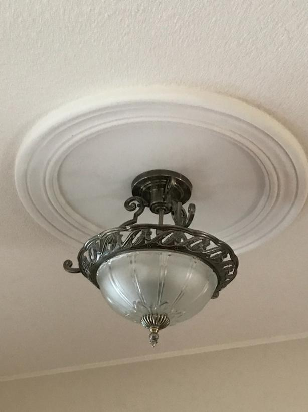 ceiling light. obo.