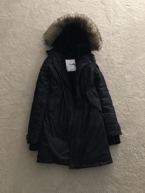 TNA Avoriaz Parka  SIZE XS New without tags worn once