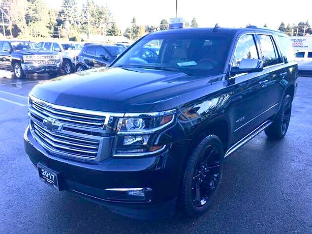 Vancouver Island's Lowest Priced BRAND NEW 2017 Tahoe LTZ