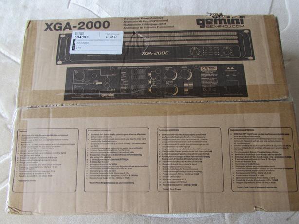 Gemini 2000 watt amp