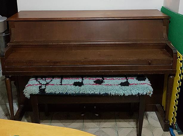 Upright Piano: 1947 Henry Herbert by Mason and Risch