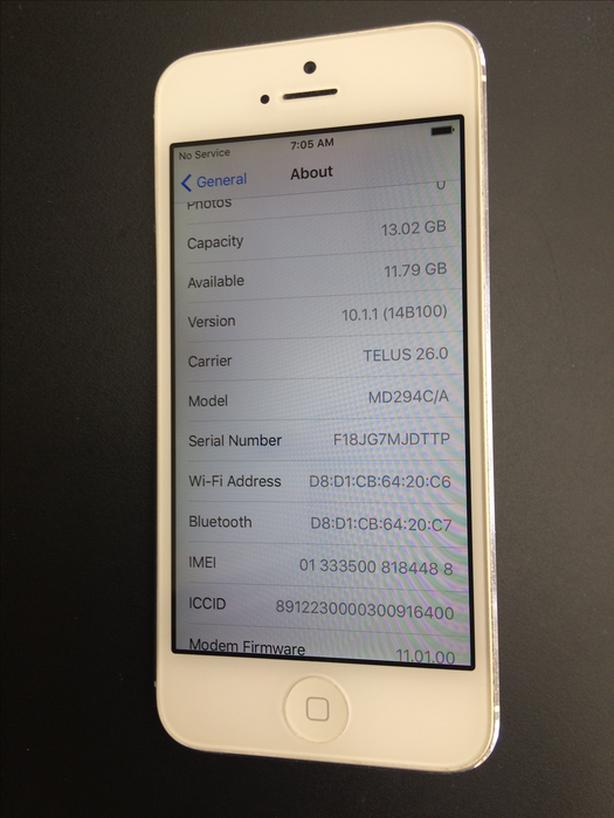 iPhone 5, Unlocked, 16 GB