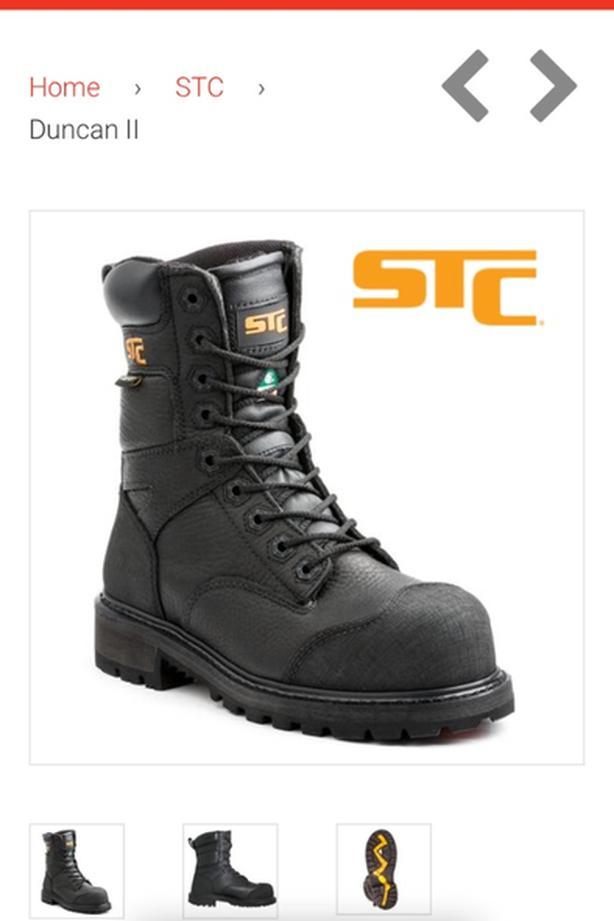 e2d46df3d92d STC Goretex Work boots - New - Size 9 West Regina
