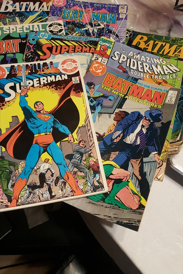 COMICS BOOKS 1970-80th SPIDER-MAN,SUPERMAN BATMAN AND MORE
