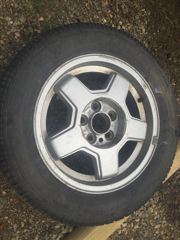 pair of tires ~Federal/Cooper~ P205/60R15