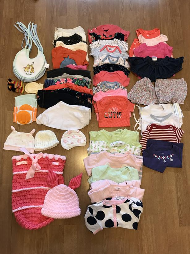 Excellent Bulk Baby Items - clothing, toys, gym, swing, slide and more