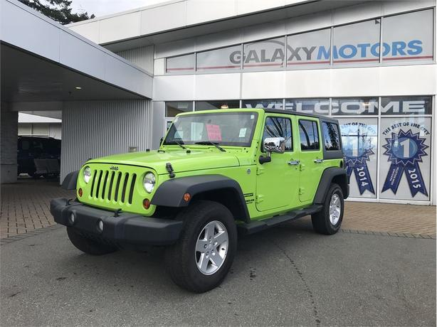 2013 Jeep Wrangler Unlimited SPORT - BLUETOOTH, AIR CONDITIONING, ALLOY WHEELS